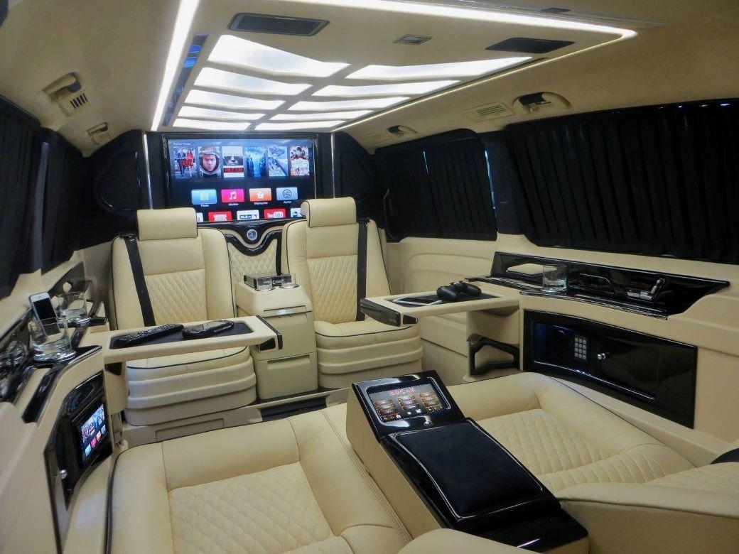 Megabus Tuned Mercedes Benz Vito Tourer Extralang
