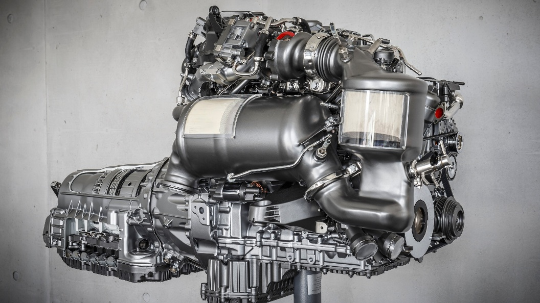 Particulate Filters Coming To Gas Engine Mercedes Benz