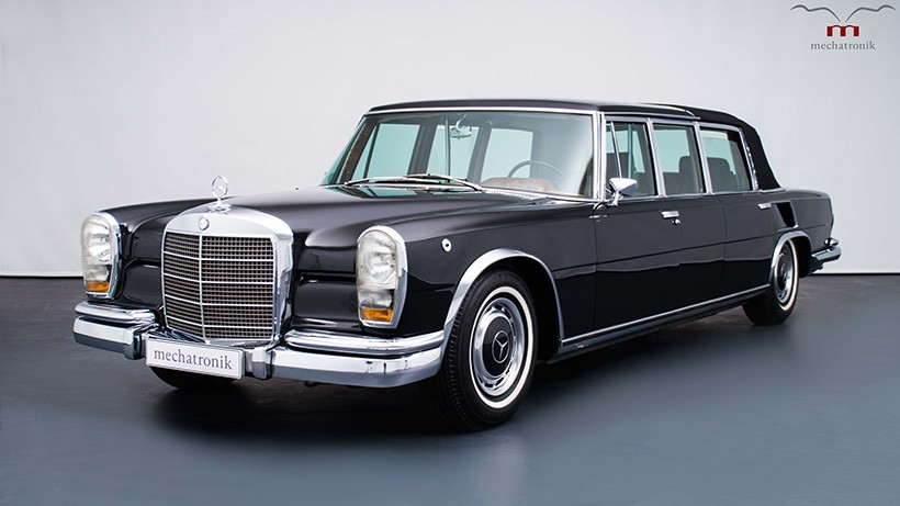 mercedes benz 600 pullman landaulet used by the queen up for sale a mercedes. Black Bedroom Furniture Sets. Home Design Ideas
