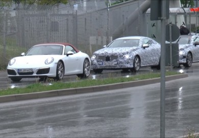 Mercedes-Benz E-Class Coupe Prototypes Caught On Cam