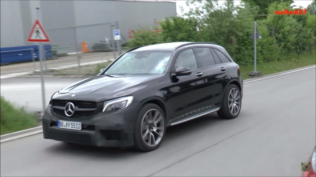 Engine Sound Of Mercedes-AMG GLC 63 Prototype Muted