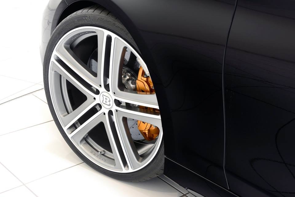 Brabus-Tuned Mercedes-Benz S63 Cabriolet Given Monoblock Wheels