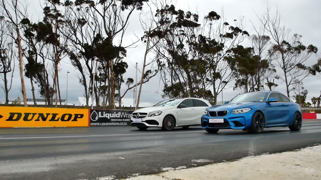 Mercedes-Benz A45 AMG Goes Up Against BMW M2