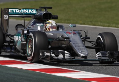 Lewis Hamilton Mercedes F1 2016 Spanish Grand Prix