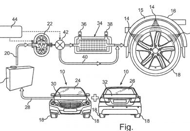 Tire Cooling System Patented By Mercedes-Benz