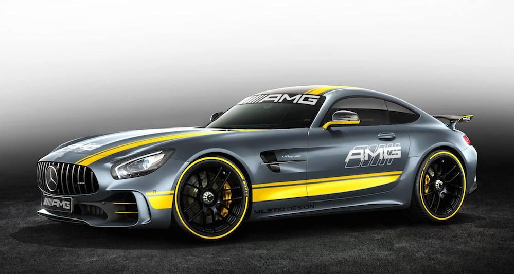 Rendering Of Mercedes Amg Gt R Gt3 Emerges Benzinsider