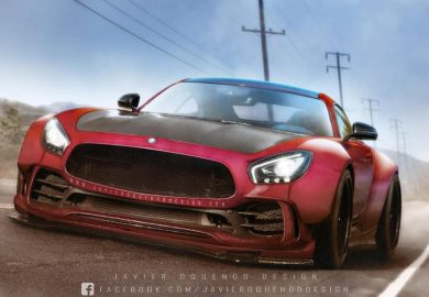 Rendering Of Road-Legal Mercedes-AMG GT RR Emerges