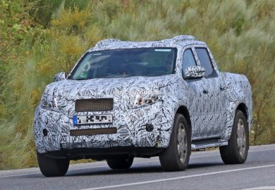 Upcoming Mercedes-Benz GLT Seen In Spain