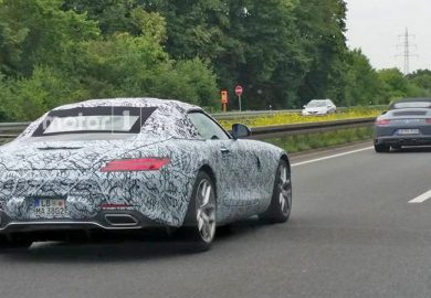 Upcoming Mercedes-AMG GT Roadster Spotted