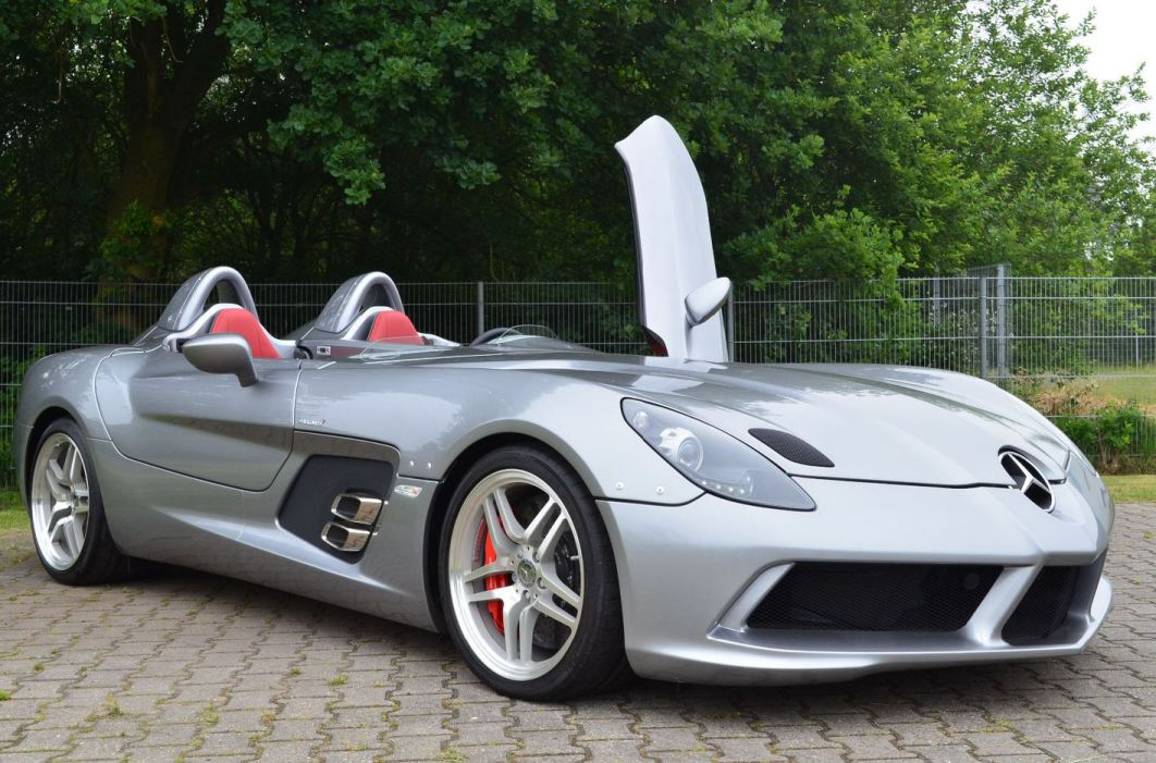 Mercedes-Benz SLR Stirling Moss Available In The Market