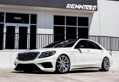 Impressive-Looking Mercedes-Benz S63 AMG Tuned By RENNtech