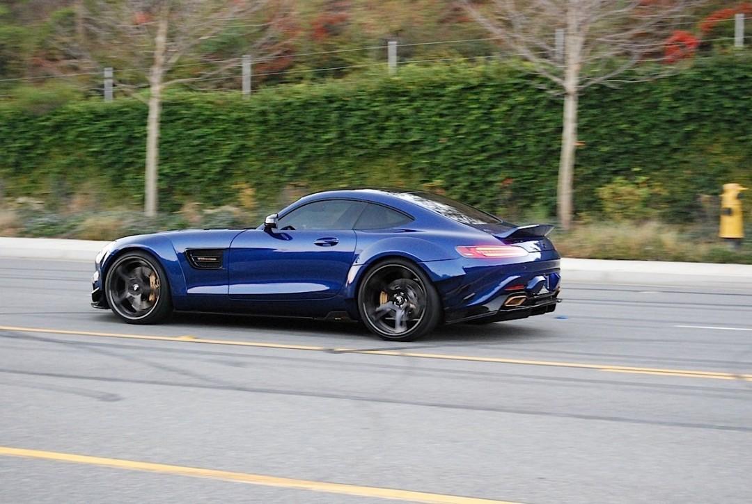 Prior Design Widebody Kit Enhances Mercedes Amg Gt S Benzinsider