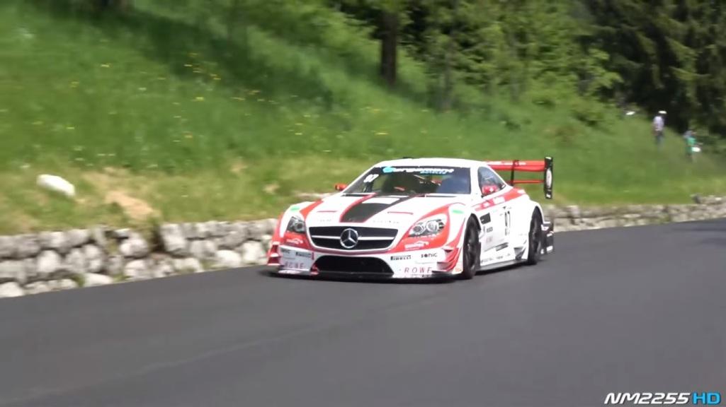 Hear the Mercedes-Benz SLK 340 Roar tuned by Carlsson