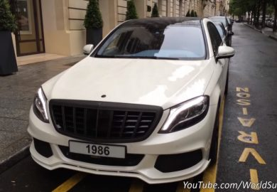 Low-Key Brabus Maybach Rocket 900 Seen In Paris