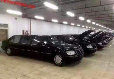 Mercedes-Benz S-Class Pullman Rebadged In Shanghai