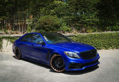 RDB LA Enhances Wald Mercedes-Benz S-Class Black Bison
