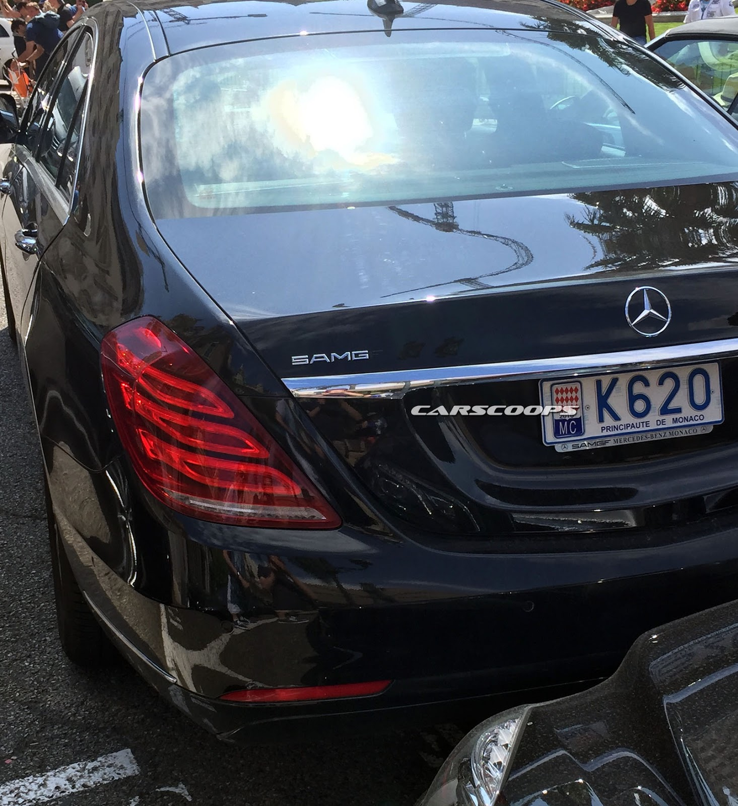 2017 Mercedes-Benz S-Class Spied Without Camouflage