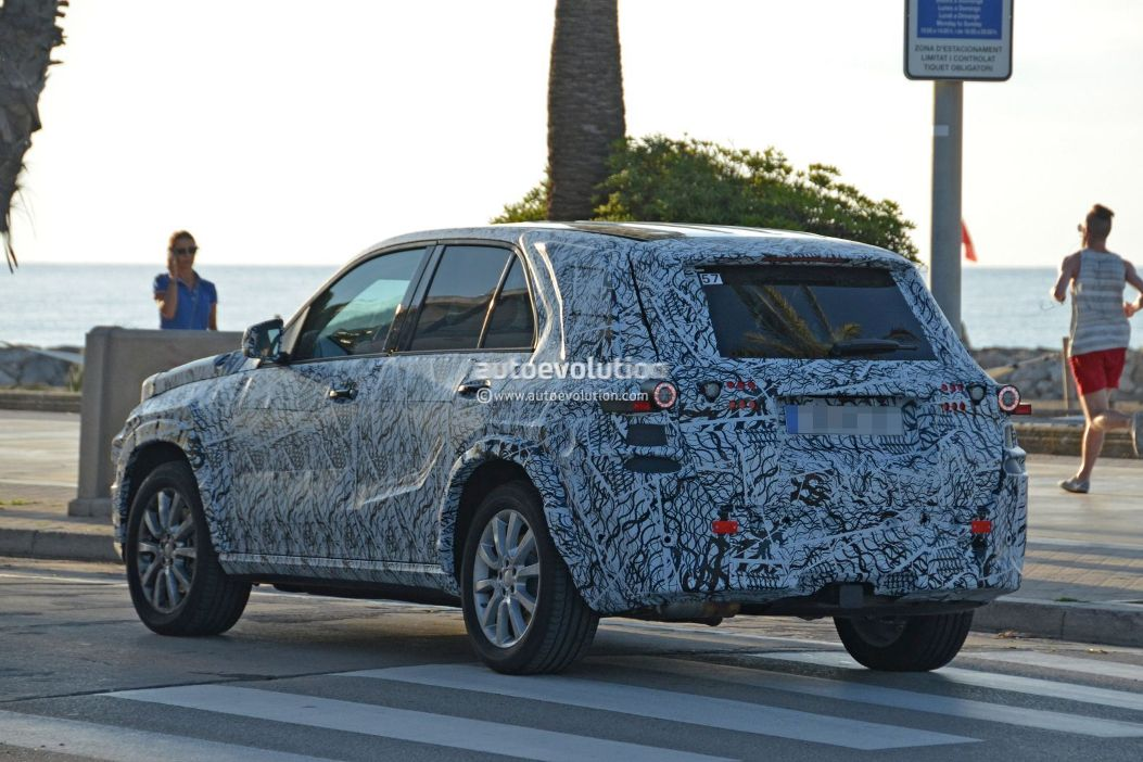 Next-Generation Mercedes-Benz GLE May Feature Rugged Appearance.