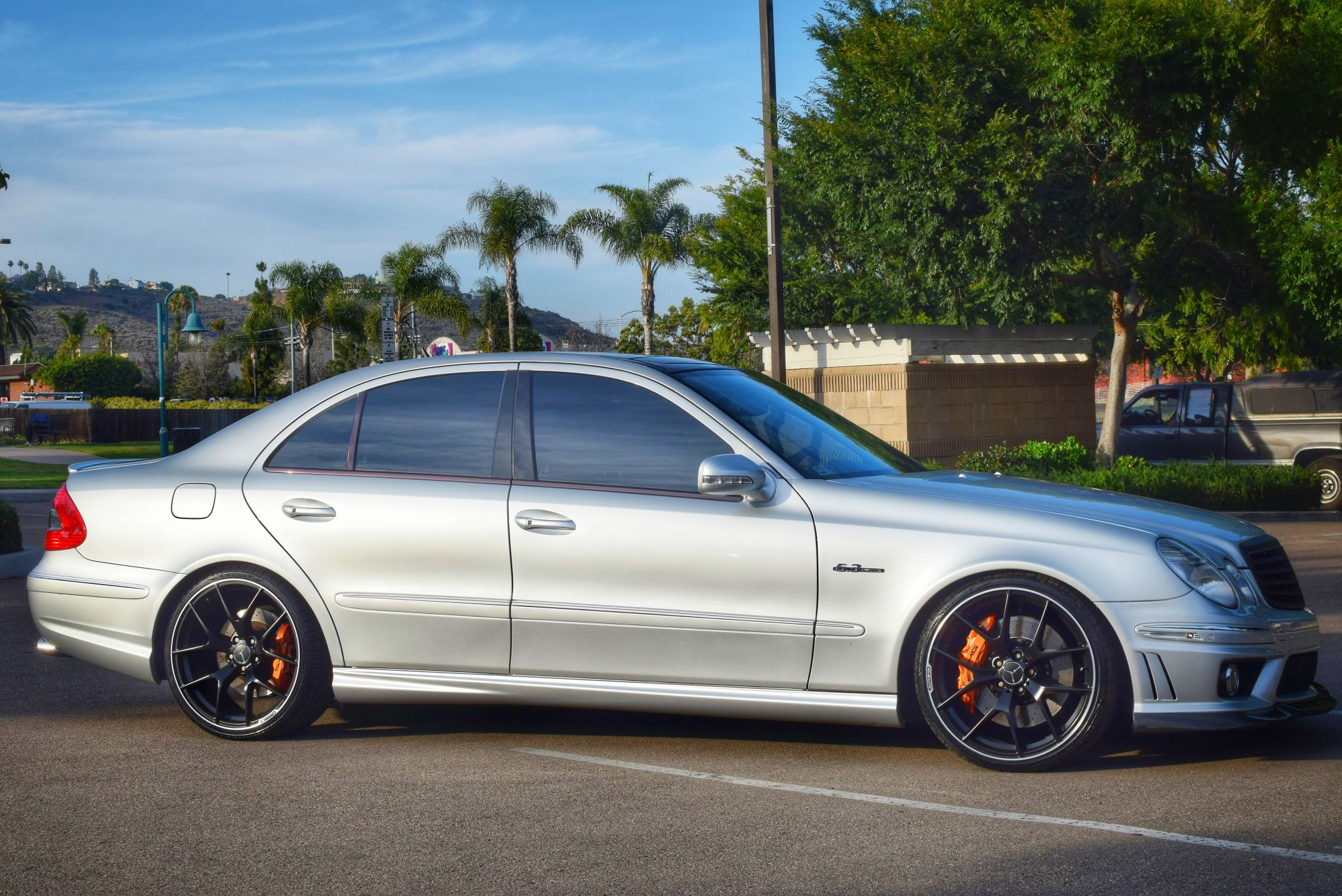 2007 mercedes benz e63 amg up for grabs for Mercedes benz e63 amg for sale