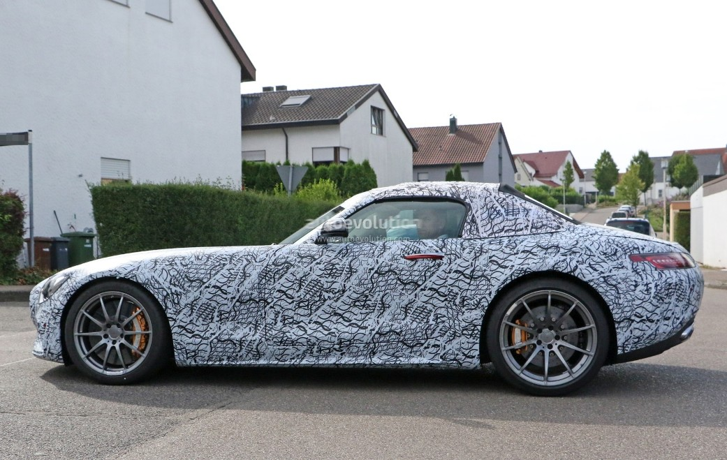 Mercedes-AMG GT C Roadster Prototype Caught On Camera