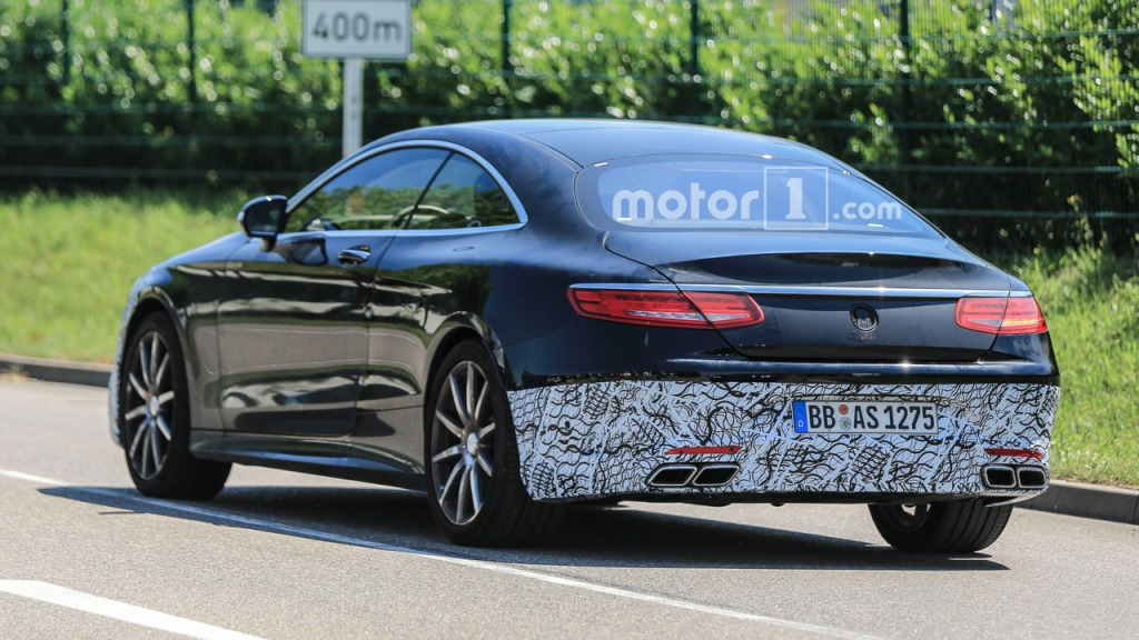 Next Mercedes-AMG S63 Coupe Spotted