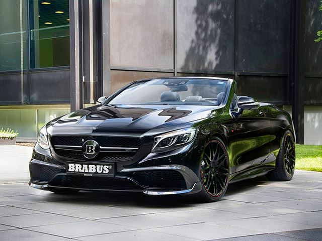 Mercedes Benz Slr Mclaren Black Convertible Presenting: The Brabus...