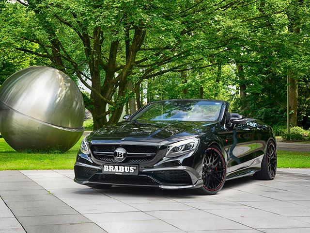Presenting: The Brabus Mercedes-AMG S-Class Cabriolet