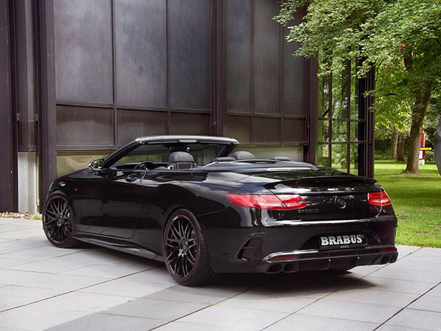 presenting the brabus mercedes amg s class cabriolet. Black Bedroom Furniture Sets. Home Design Ideas