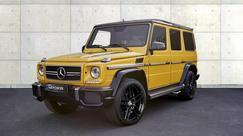 g power pumps up the power of the mercedes amg g63. Black Bedroom Furniture Sets. Home Design Ideas