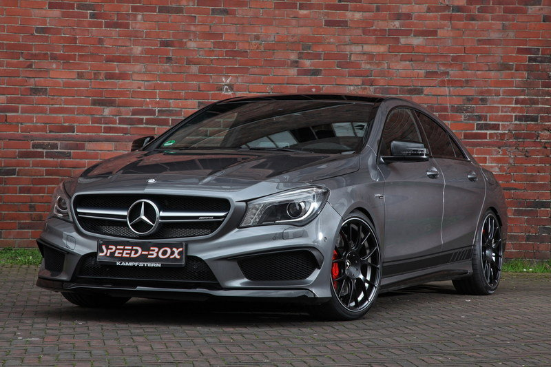 mercedes amg cla45 gets tuned by schmidt revolution a mercedes benz fan blog. Black Bedroom Furniture Sets. Home Design Ideas