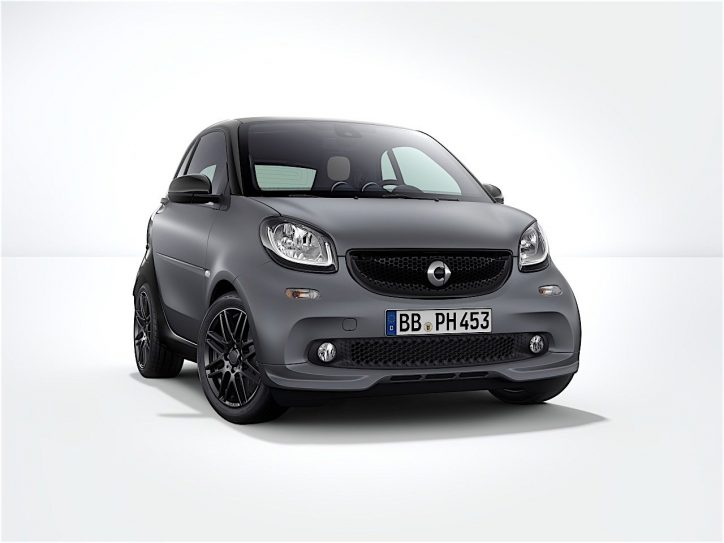 brabus sport package for smart fortwo will be made available in fall a. Black Bedroom Furniture Sets. Home Design Ideas