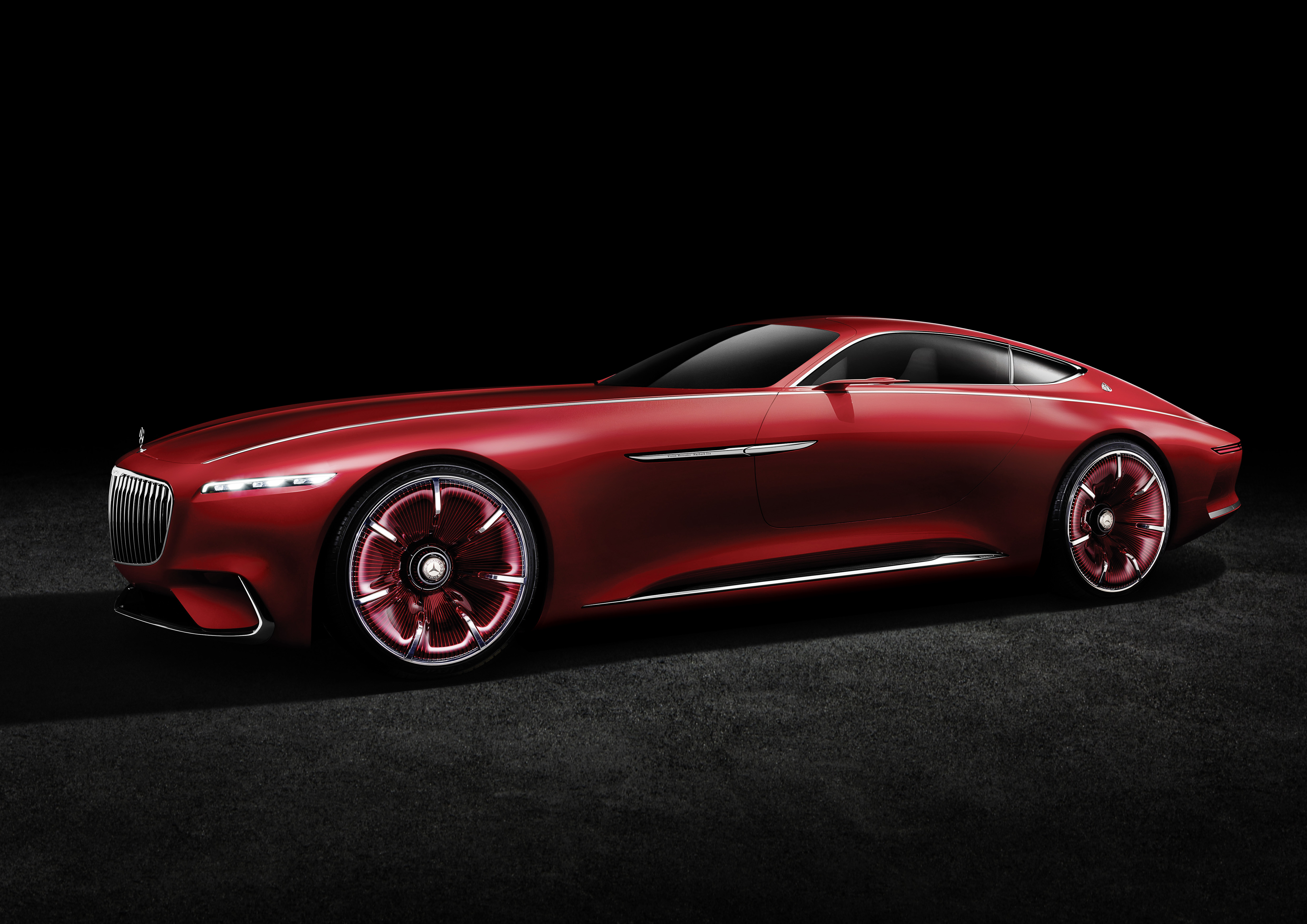 Vision mercedes maybach 6 finally makes its debut for Mercedes benz maybach exelero