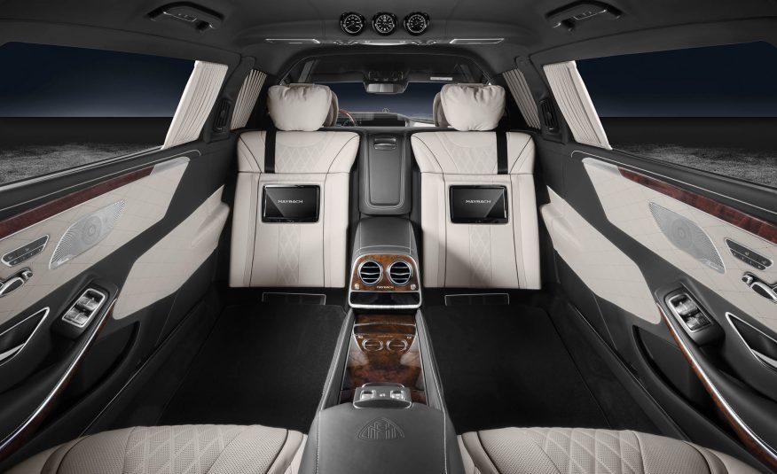 2018 Mercedes Maybach S600 Pullman Guard 6 Benzinsider Com A