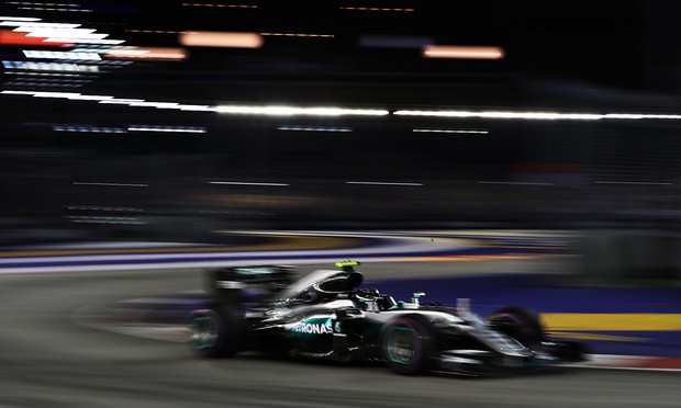No excuses from downbeat Hamilton as Rosberg wrests control of title race