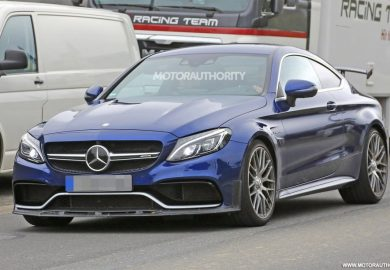 2018 mercedes-amg c63 r coupe spy shots (1)