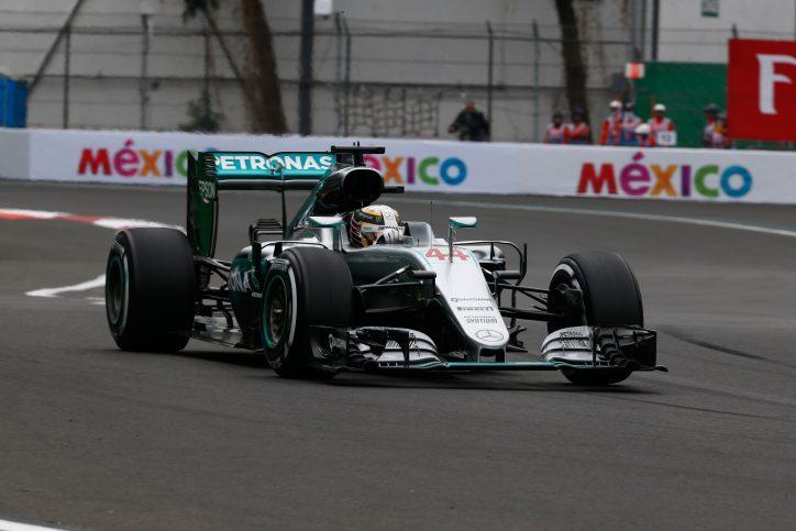 Lewis Hamilton wins 2016 Mexico GP