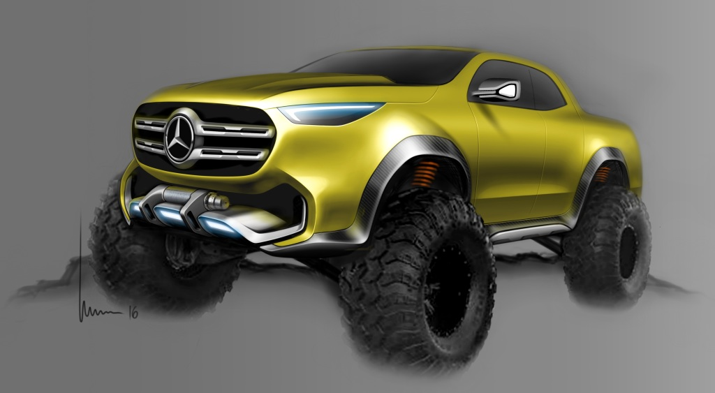 Image result for Mercedes GLT yellow