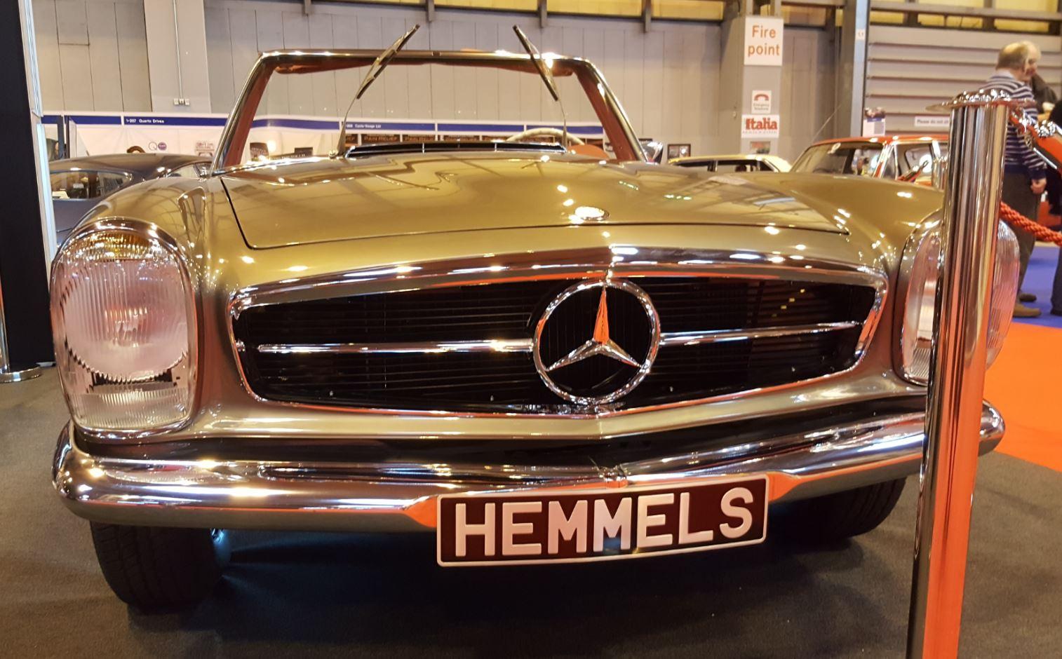 1968 mercedes benz 280 sl pagoda fully restored for Mercedes benz restoration