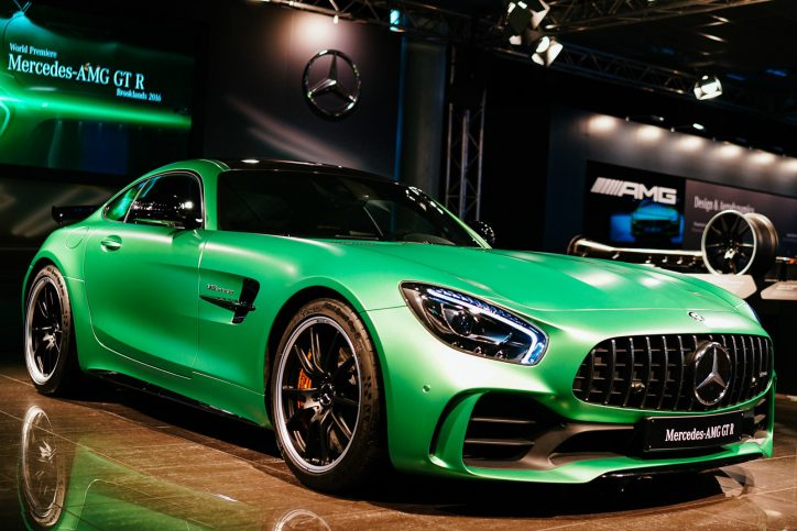Mercedes Amg Gt R Shows Audi Q3 Prototype Who S Boss