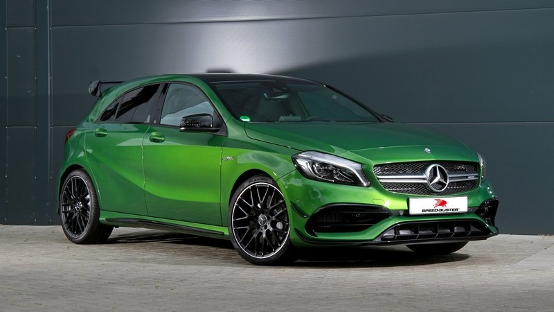 comparison of the famous mercedes amg a45 tuning packages. Black Bedroom Furniture Sets. Home Design Ideas