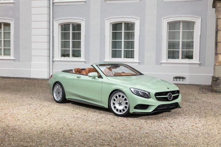Carlsson Mercedes S-Class Convertible (1)
