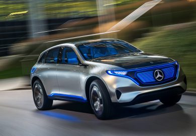 The Mercedes-Benz Concept EQ