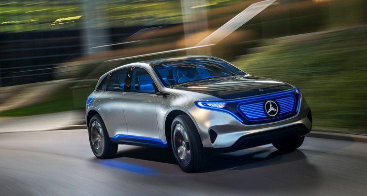 The Mercedes-Benz Concept EQ