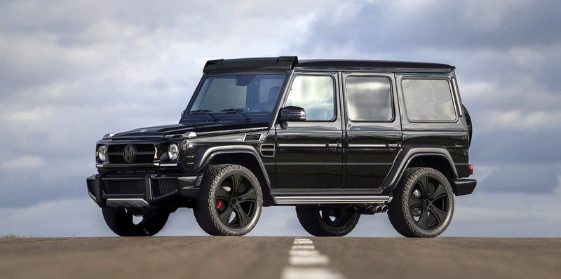 5 Essential Ingredients Of The Mercedes Benz G Class G Cross