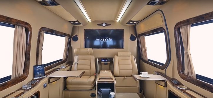 A Peek Inside The Mercedes Benz Sprinter Svd1010 Vip Design