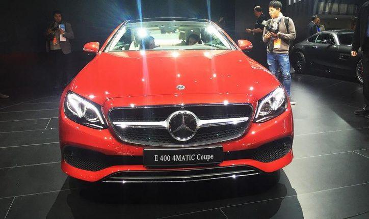 Mercedes-Benz E-Class Coupe (1)