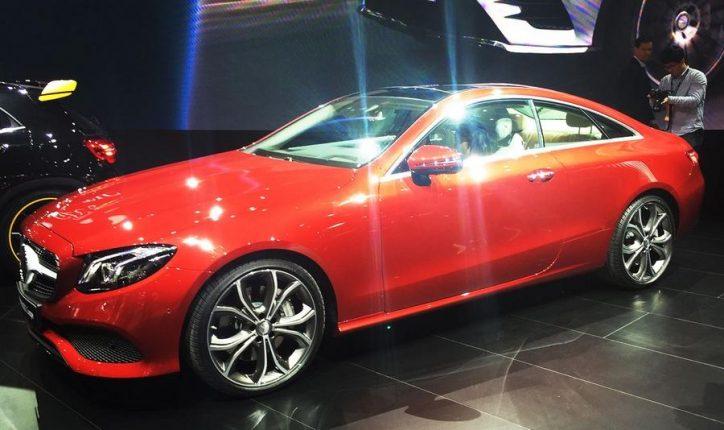 Mercedes-Benz E-Class Coupe (2)