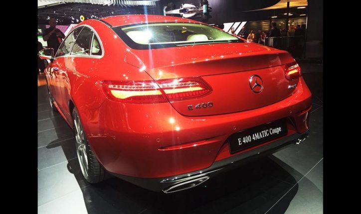Mercedes-Benz E-Class Coupe (3)