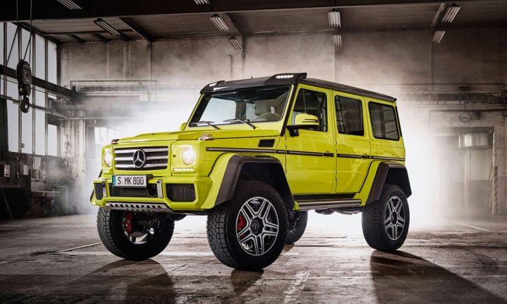 Mercedes-Benz G550 4x4²