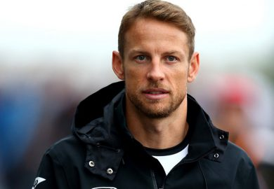 jenson button on mercedes f1